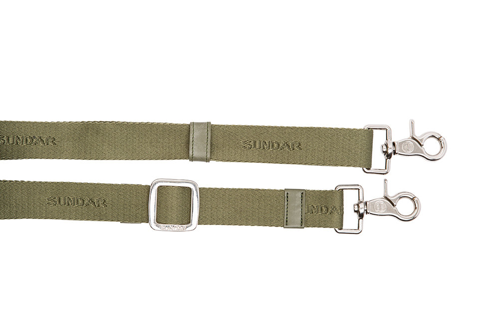 Asa Ribbon Verde Olivo Ajustable 79-136 Cms
