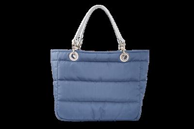 Bolsa Basica Azul Acero con Cierre