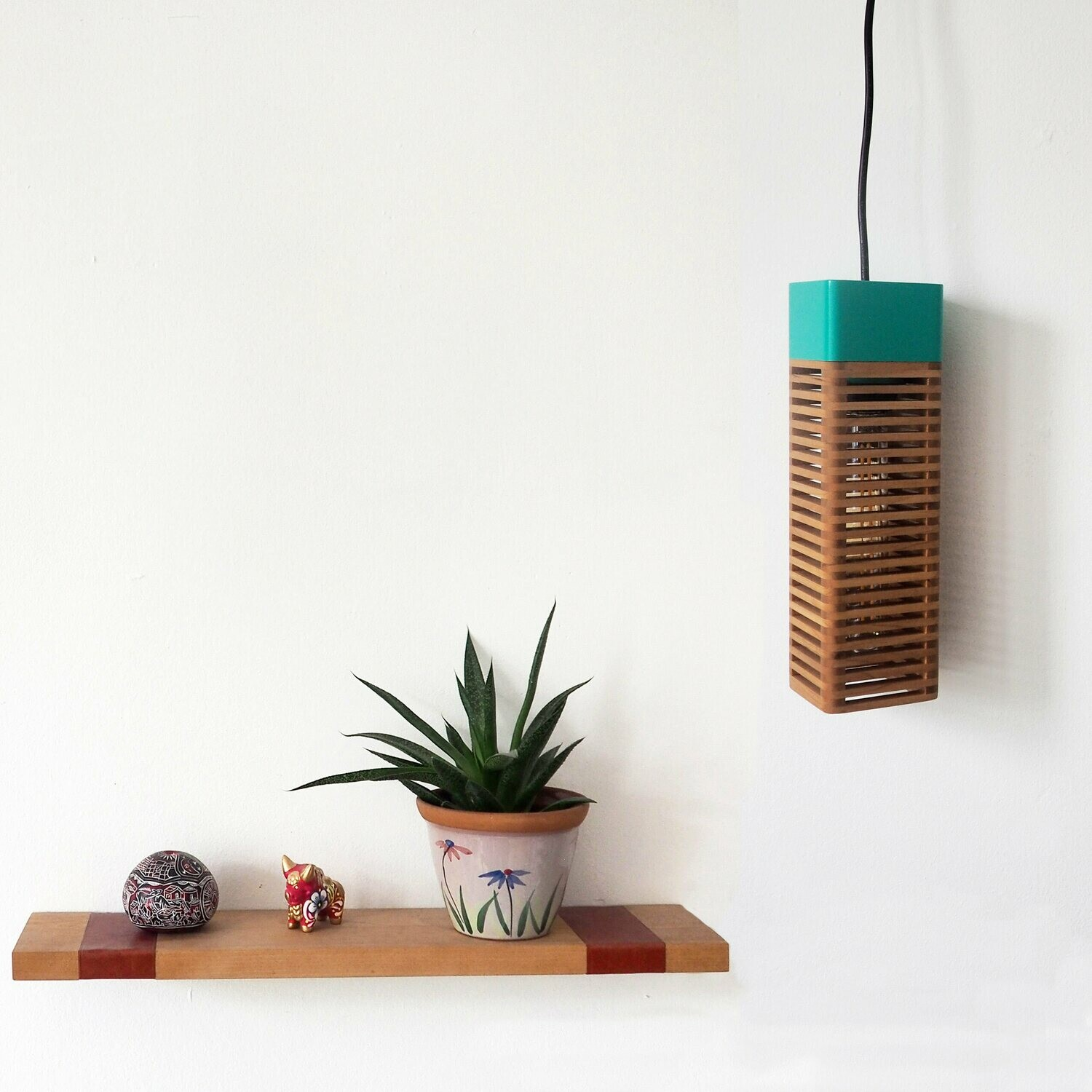 Pop_ Hanging or table lamp: Emerald