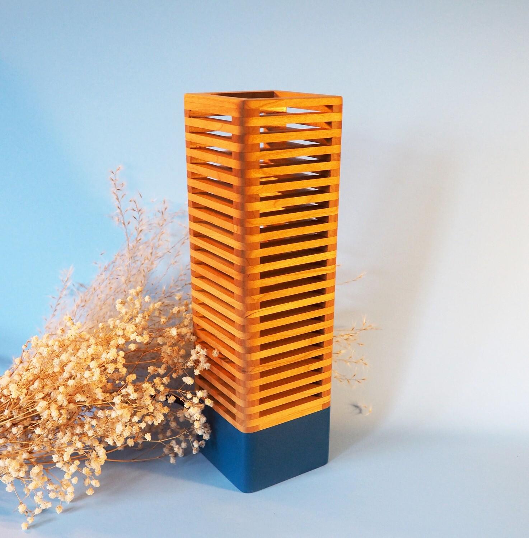 Pop_Modular lamp: Blue