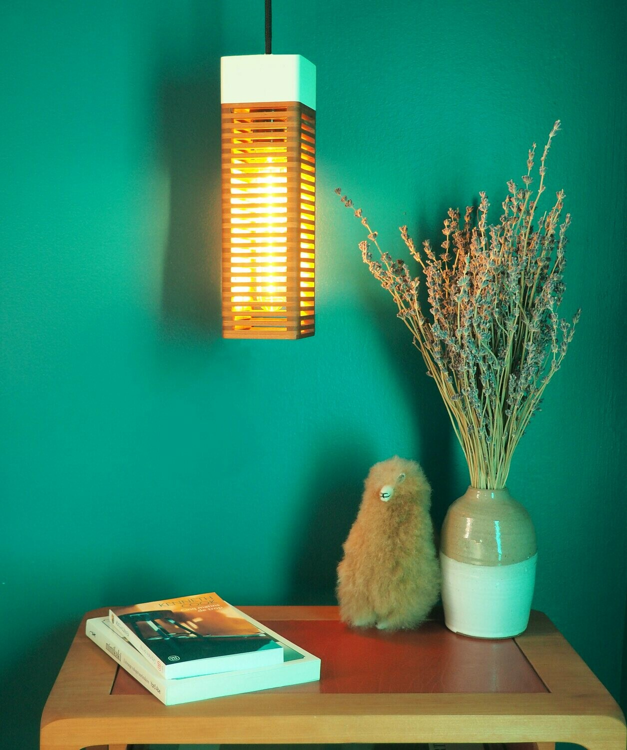 Pop Lampe modulable en cerisier