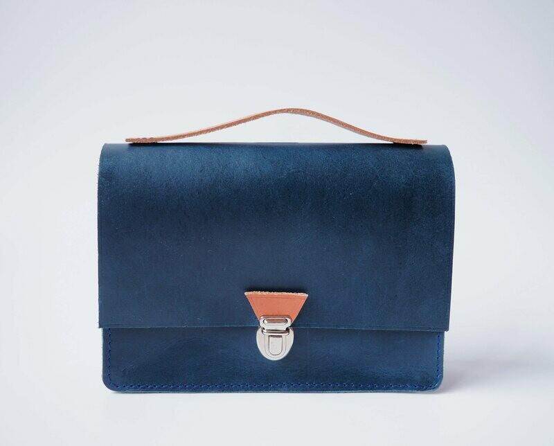 Back to school - Mini Schoolbag Blue