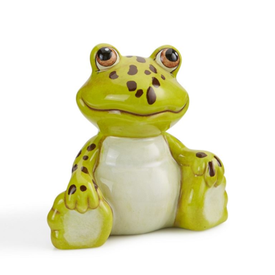 Sitting Frog Ornament