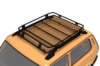 Багажник экспедиционный Lada 4x4 Bronto (монтаж на рейлинги)