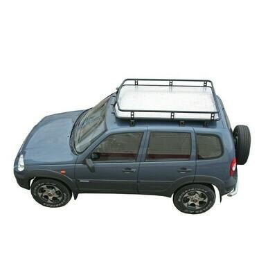 Багажник экспедиционный «Трофи» с алюминиевым листом, 2123 «Шеви»