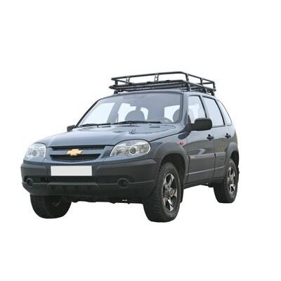 Багажник экспедиционный «Трофи» с сеткой, 2123 «Шеви»
