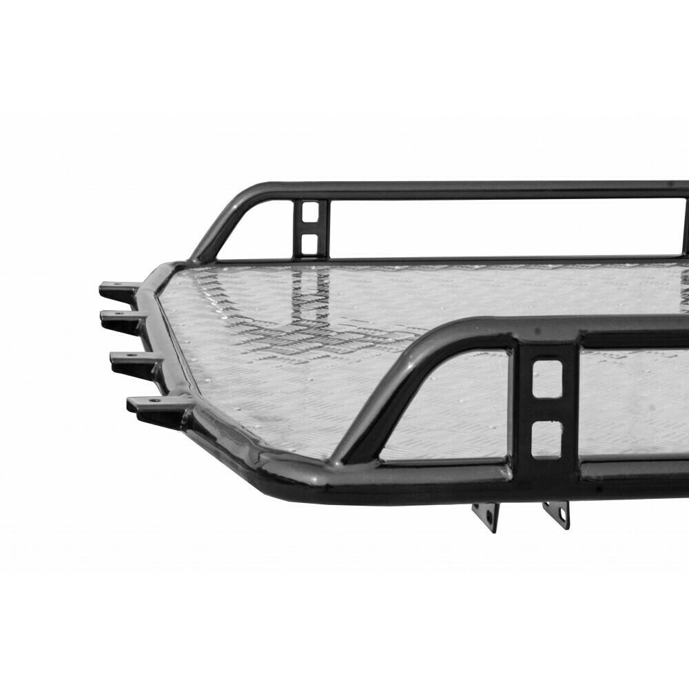 Багажник «Трофи» с алюминиевым листом без поперечин, Chevrolet Niva/Lada Niva (07.2020 -), Niva Travel