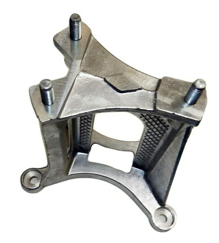 Алюминиевый кронштейн запасного колеса Нива Шевроле (под литой диск)