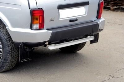 Защита заднего бампера короткая (Ø57 мм)