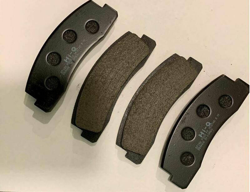 Колодки тормозные передние Lada 4x4 /Шевроле Нива (Hi-Q). Колодки без скрипа, с легкой пылью, тормозят как надо!