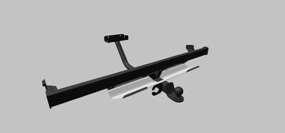 Фаркоп для Lada 4x4 Urban с защитой заднего бампера