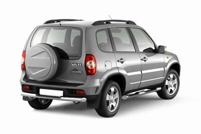 """Рейлинги """"Усиленные"""" на Chevrolet NIVA с 2002- / LADA NIVA 2020-"""