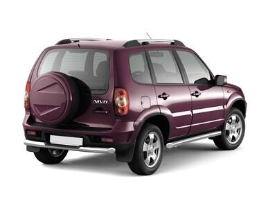 """Рейлинги """"Усиленные"""" с поперечинами на Chevrolet NIVA с 2002- / LADA NIVA 2020-"""