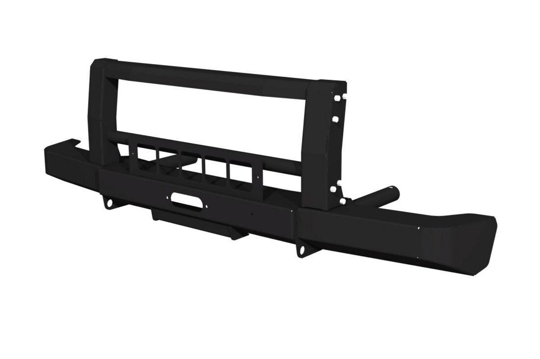 Силовой передний бампер FD 2.0 для Lada 4x4 с защитой передка