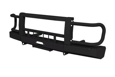 Силовой передний бампер FD 2.0 для Lada 4x4 с защитой фар