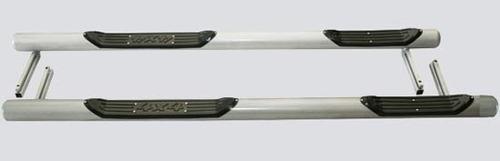 Пороги «Труба с проступью» с металлической заглушкой, 2131 (комплект)
