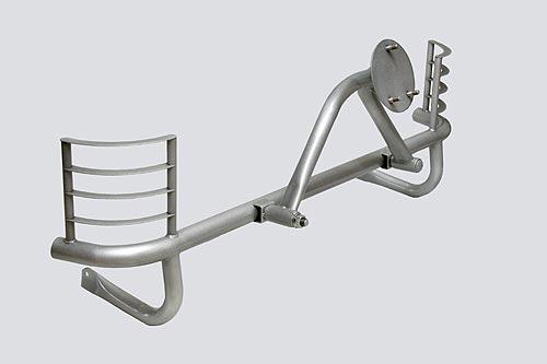 Кронштейн запасного колеса усиленный с защитой фонарей (3 дв./5дв.)