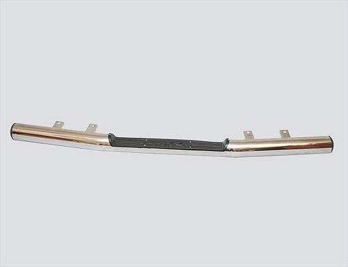 Защита заднего бампера «Труба с проступью» (Ø=76 мм), Chevrolet Niva (- 03.2009 (нержавеющая сталь)