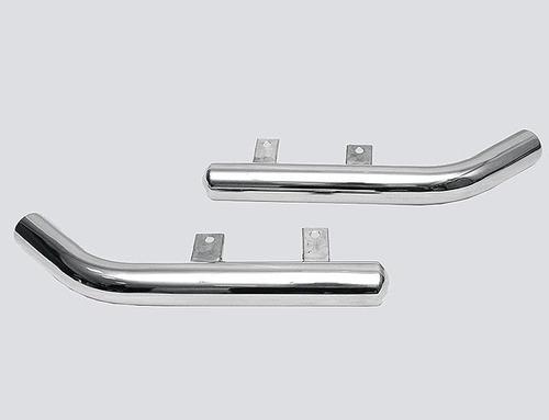 Защита заднего бампера «Уголки цельные» (Ø=63,5 мм), Chevrolet Niva (- 03.2009) (нержавеющая сталь)