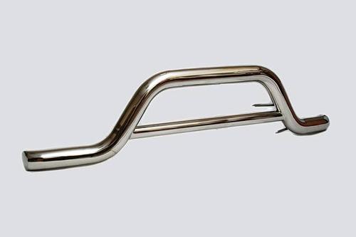 Защита переднего бампера «Волна» (Ø=63,5 мм), Chevrolet Niva (- 03.2009) (нержавеющая сталь)