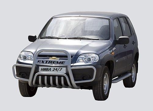 Передок с дополнительной защитой двигателя «С ушами», Chevrolet Niva (03.2009 - )/Lada Niva (07.2020 -)