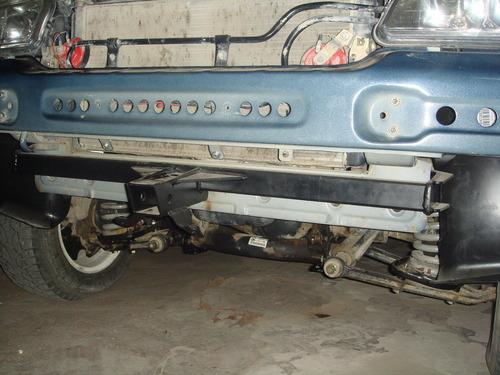 Кронштейн съемной лебедки передний для а/м до 2009 г.в.