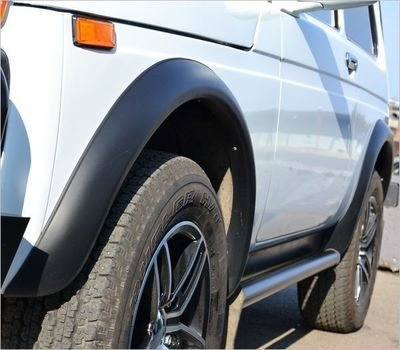 Расширители стандартных арок колёс. Вылет 3 см. (3/5дв) (внедорожные)