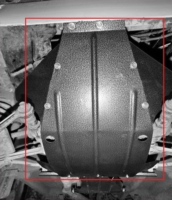 Защита картера двигателя и КПП усиленная