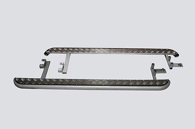 Пороги с алюминиевым листом. Chevrolet Niva (- 03.2009)