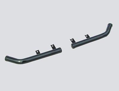 Защита заднего бампера «Уголки», Chevrolet Niva (- 03.2009)