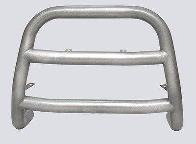 """Защита переда """"Высокий"""" с двумя поперечинами (Ø=63,5 мм) Chevrolet Niva (- 03.2009)"""