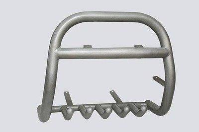 Защита переда под лебедку (Ø=63,5 мм) Chevrolet Niva (- 03.2009)