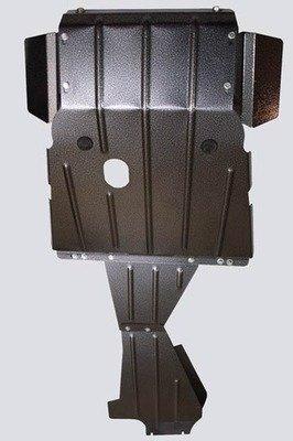 Защита картера двигателя, коробки передач и раздаточной коробки усиленная Chevrolet Niva / Lada Niva (07.2020 -)