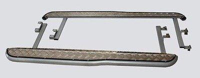 Пороги с алюминиевым листом с перегибом, (03.2009 -)/Lada Niva (07.2020 -), Niva Travel