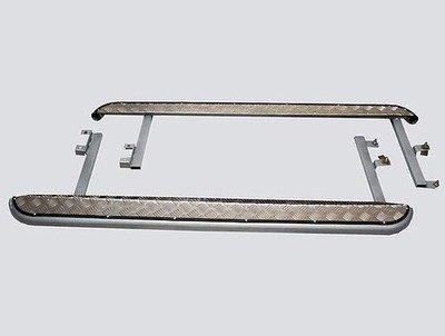 Пороги с алюминиевым листом, Chevrolet Niva (03.2009 -)/Lada Niva (07.2020 -), Niva Travel