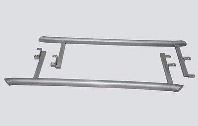 Пороги «Труба изогнутая», Chevrolet Niva (03.2009 -)/Lada Niva (07.2020 -), Niva Travel