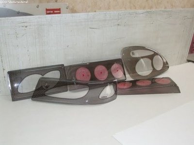 Защита фар Niva Chevrolet (комплект)