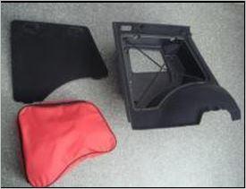 Сумка для левого бокс-органайзера багажника