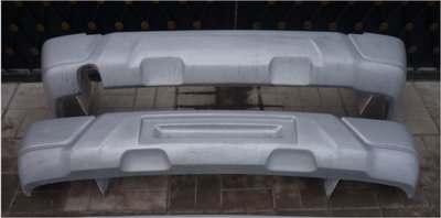 Силовой  Бампер передний/задний (Urban) (стеклопластик). СуперПрочный