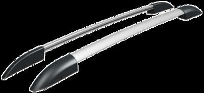 Рейлинги  серебристые для Lada 4x4 (2131 / 5 дв)