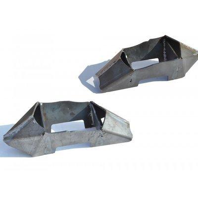 Кронштейны чашки задней балки (проставки) (к-т) (из Лифт-комплекта арт. ТС-3301) (3 дв./5дв.,    Urban 3дв./ Urban 5дв.)  и Chevrolet NIVA