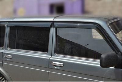 """Накладные дефлекторы дверей """"Lada 4x4"""" 5- дверная"""