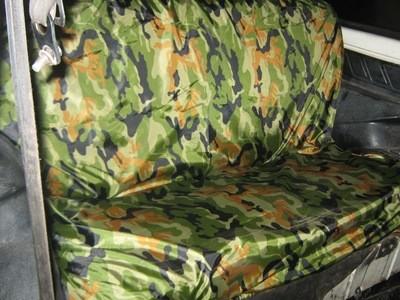 Грязезащитный чехол на заднее сиденье