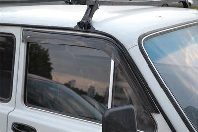 """Накладные дефлекторы дверей """"Lada 4x4"""" 3-х дверный"""