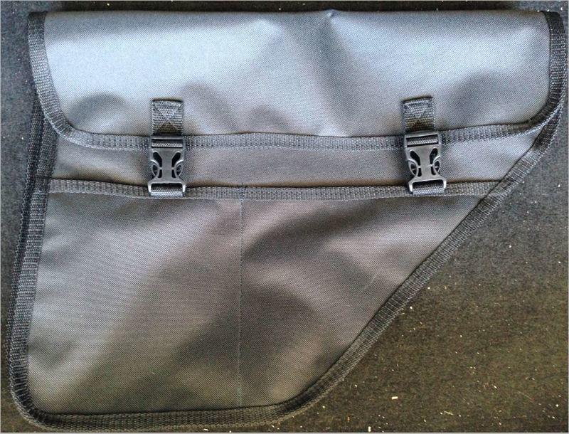 ПодСумки-Карманы (комплект из 2 сумок: на правую и левую стороны). Багажник Свободный! Всё Упаковано в Ниши!