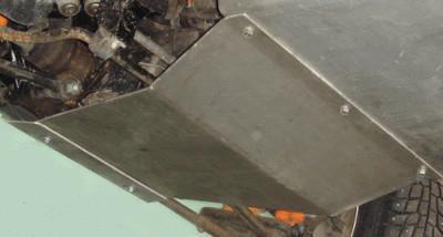 Защита коробки передач (сталь 3мм)