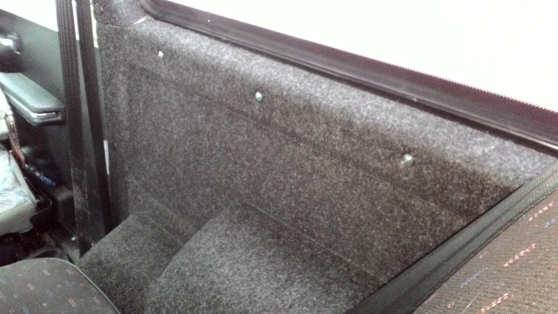 Комплект жесткой обивки Багажника 21213-21214 (ворс/кожа)