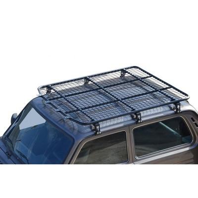 Багажник - платформа экспедиционная «Трофи»  (сетка/алюминиевый лист) Нива 3-х дверная