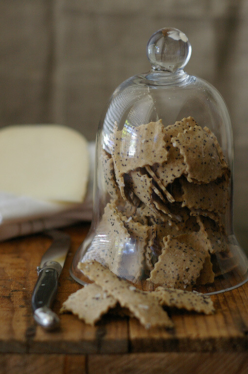 Poppy Seed Crispbreads - WHEAT FREE