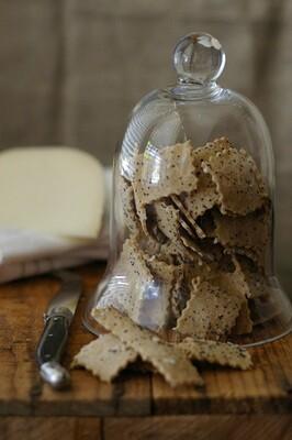 Poppy Seed Crispbreads - WHEAT FREE